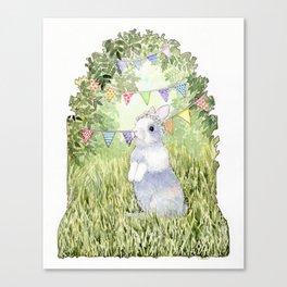 Bunny's Birthday Canvas Print