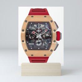 Richard Mille RM011 Red Demon Titanium & 18K Rose Gold 50MM Mini Art Print