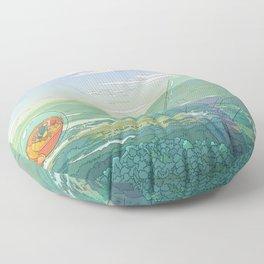 Giant Crystal Floor Pillow