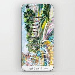 Charleston Pineapple Fountain iPhone Skin