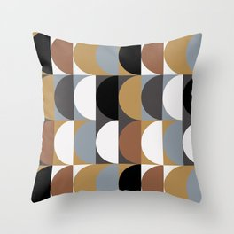 Seventies Style Throw Pillow