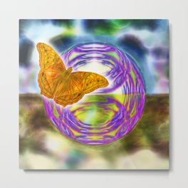 The wind beneath my wings Metal Print