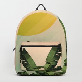 Sunny heliconia Backpack