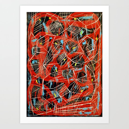 Panal Art Print