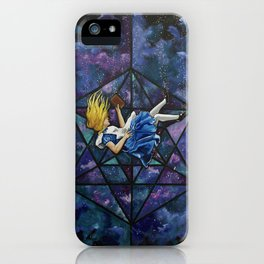 The Rabbit Hole iPhone Case