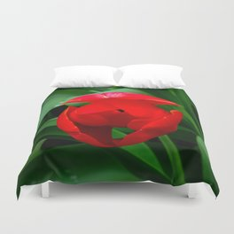 Tulip in Bloom Duvet Cover