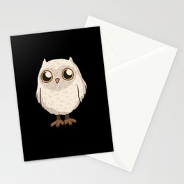 White Owl Stationery Cards