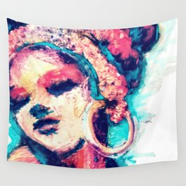 Portrait 151 Wall Tapestry
