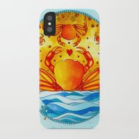 cancer iPhone & iPod Cases featuring Cancer by Sandra Nascimento