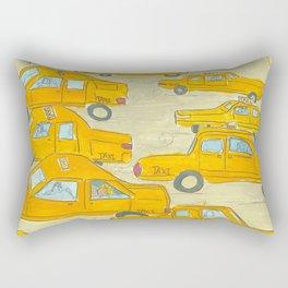 Taxis Rectangular Pillow