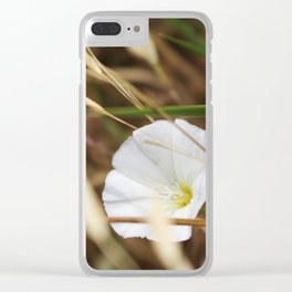 Badlands Wildflowers 3 Clear iPhone Case