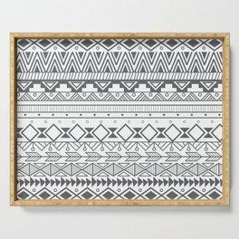 Aztec pattern 004 Serving Tray