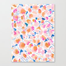 Birthday Confetti Canvas Print