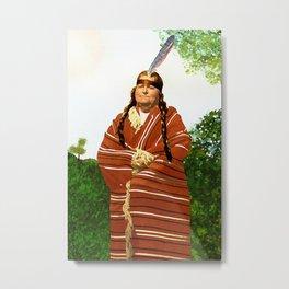 Chickasaw Metal Print