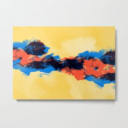 Tectonic Metal Print