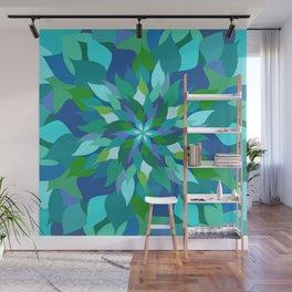 Healing Leaves Wall Mural
