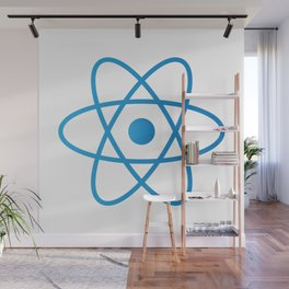 Abstract Isolated Atom Wall Mural