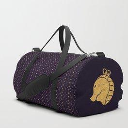 Royal Purple Duffle Bag