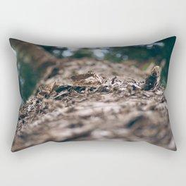 From Below Rectangular Pillow