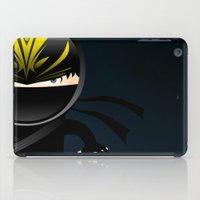 ninja iPad Cases featuring Ninja by Stephen Yan