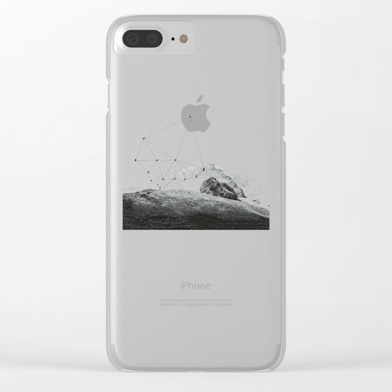 Fly, Fly, Away Clear iPhone Case