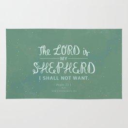 Psalm 23:1 Rug