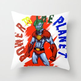 METTA WORLD PEACE Throw Pillow