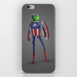 Captain Kermit iPhone Skin