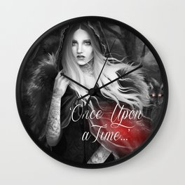 Red Riding Hood (Chaperon Rouge) Wall Clock