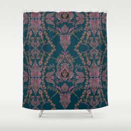Emerald Gipsy Paisley Shower Curtain