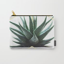 LUXE x SHEA - Gold plant life minimal Carry-All Pouch
