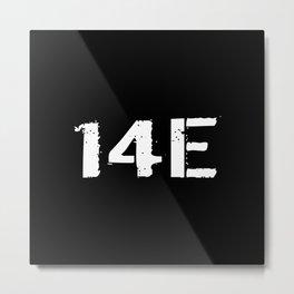 14E MOS Metal Print