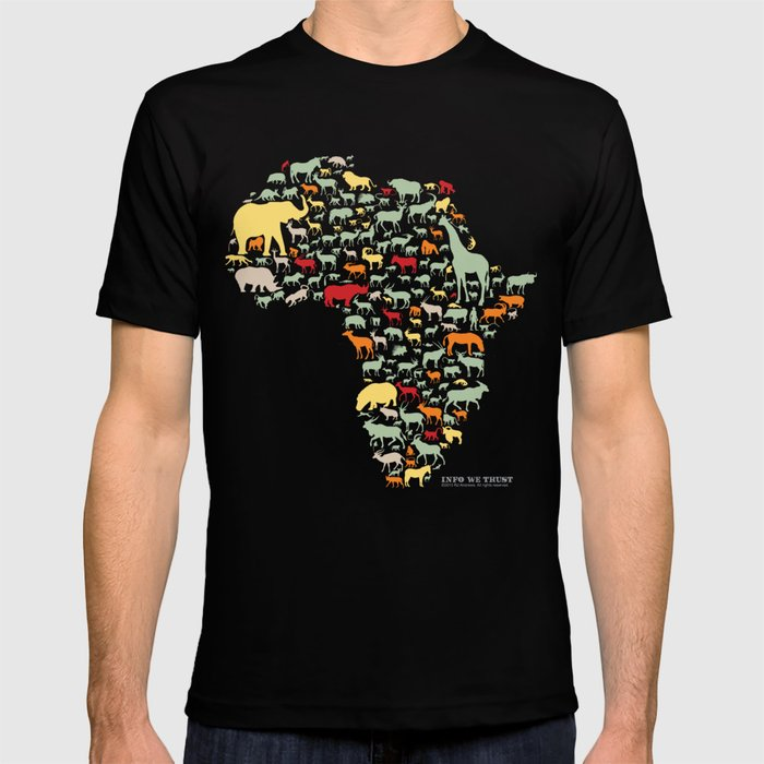 Endangered Safari - without animal names T-shirt