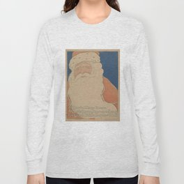 Vintage Santa Claus Illustration (1901) Long Sleeve T-shirt