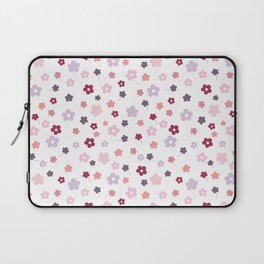 Let it bloom, floral pattern design Laptop Sleeve