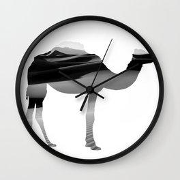 Desert Camel Wall Clock