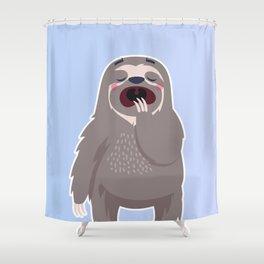 Lazy Sloth Shower Curtain