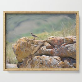 Cape Wagtail Serving Tray