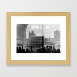 New York Analog Framed Art Print