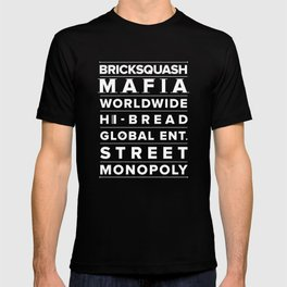 BRICKSQUASH MAFIA WORLDWIDE T-shirt