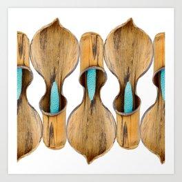Bounding Aroids by Dustin Gimbel Art Print