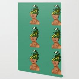 Lady Flowers VII Wallpaper