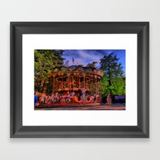 Turnin' Framed Art Print