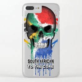 To The Core Collection: South Africa Clear iPhone Case