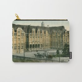 Vintage Liège Belgium governor's palace Carry-All Pouch