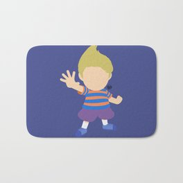 Lucas(Smash)Blue Bath Mat