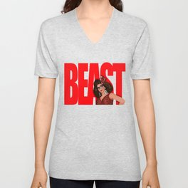 "Alyssa Edwards ""Beast"" Unisex V-Neck"