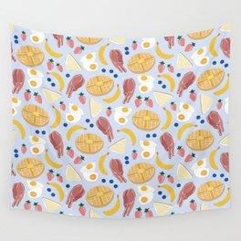 Breakfast Food Wall Tapestry