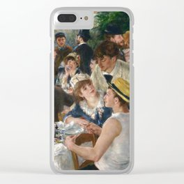 Auguste Renoir  -  Luncheon Of The Boating Party Clear iPhone Case