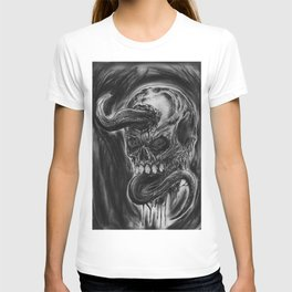 Charcoal Skull Of Death T-shirt